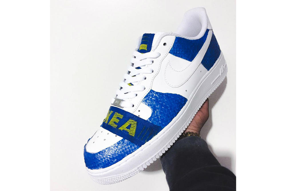 IKEA x Nike Air Force 1 Custom