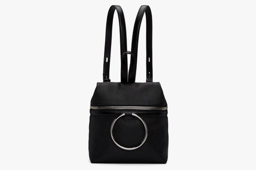1d0333a51d08b2 KARA s Minimalist Leather Backpack Gets a Cool New Detail