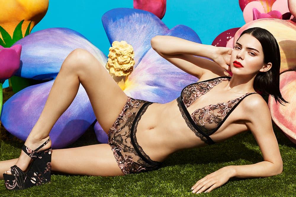 Kendall Jenner La Perla Lingerie 2017 Pre Fall Campaign