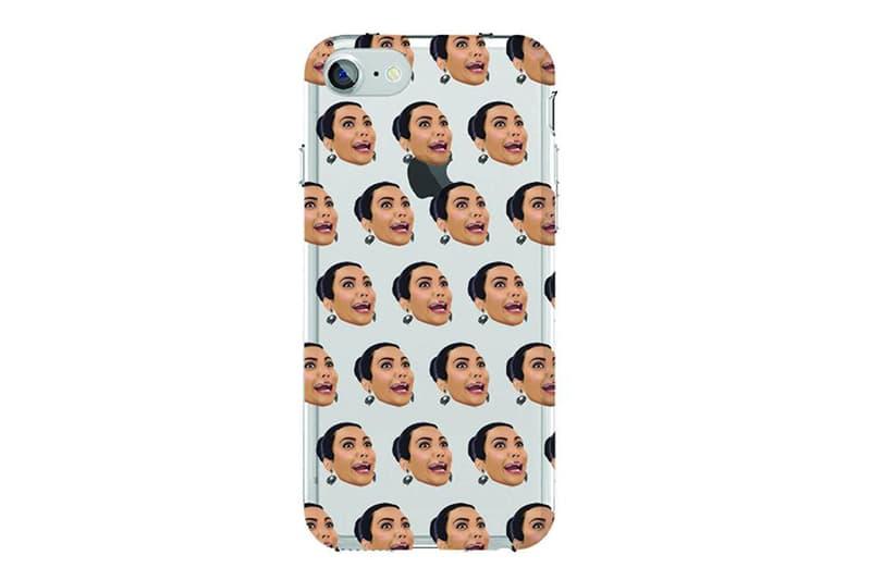 Kim Kardashia Kimoji Flash Sale 24 Hour Crazy Face iPhone Case