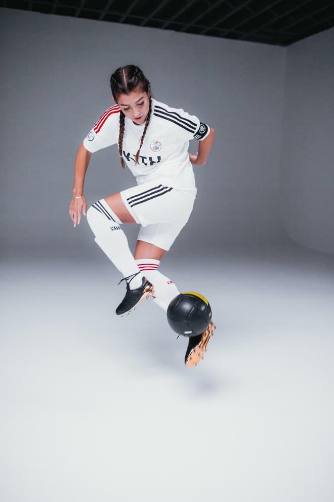 kith adidas soccer sportswear ronnie fieg florencia galarza