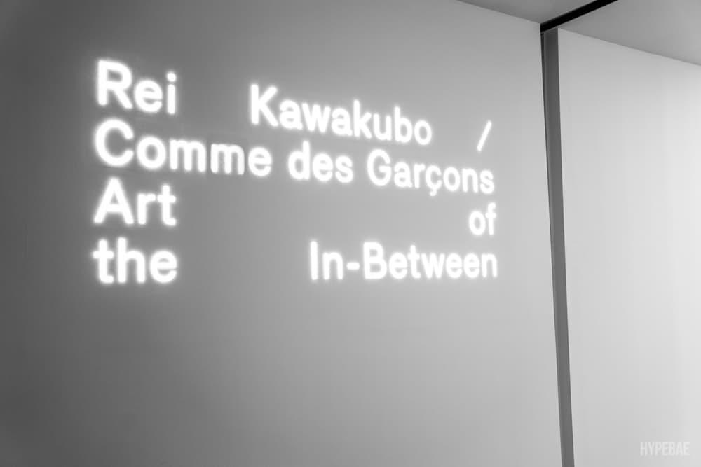 Met Gala 2017 Rei Kawakubo COMME des GARÇONS Exhibition Press Preview