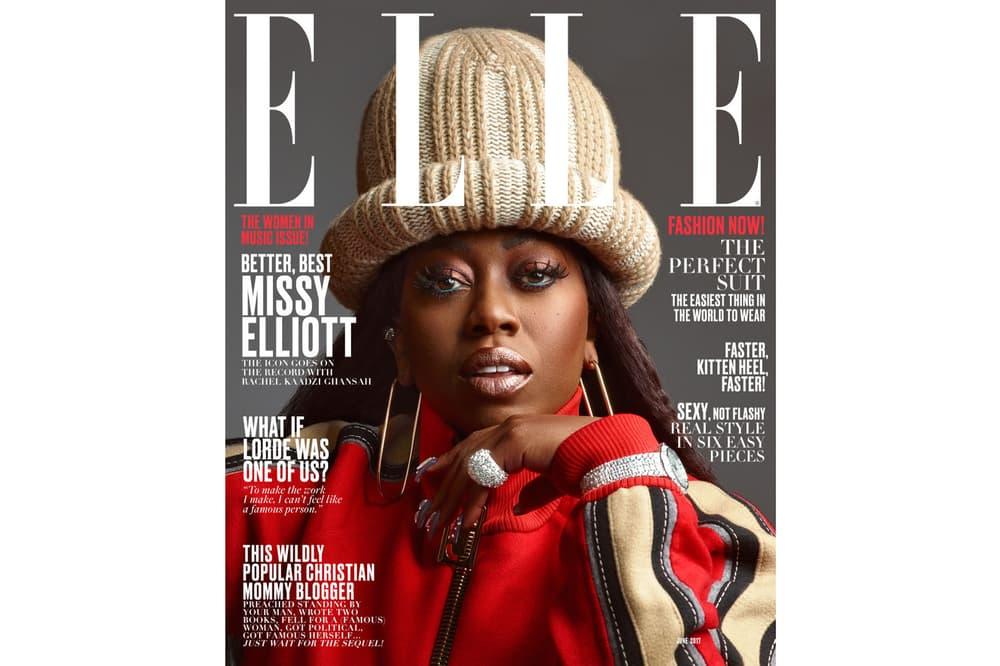 Missy Elliott ELLE Magazine 2017 June Cover