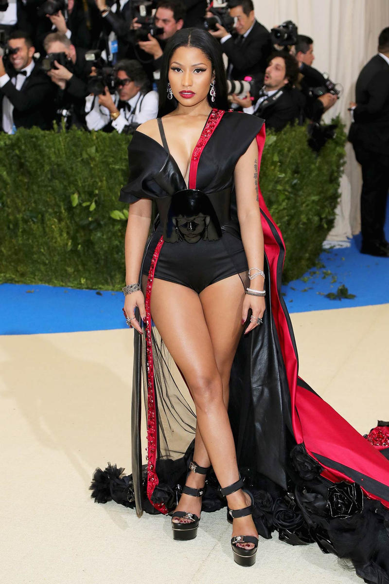 Nicki Minaj H&M 2017 Met Gala Dress
