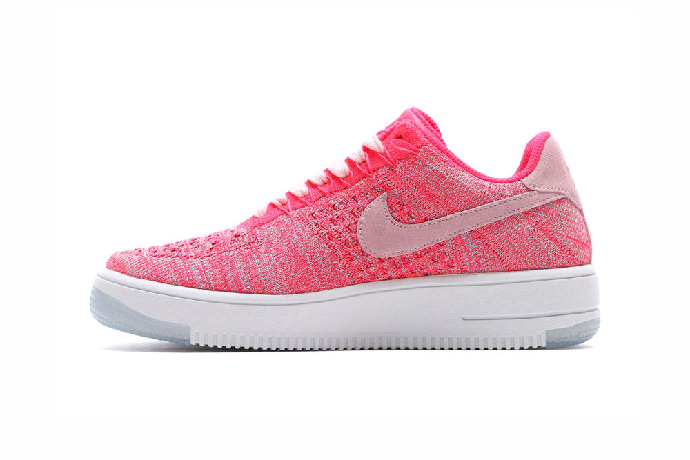 Nike Air Force 1 Flyknit Low Fuchsia Glow