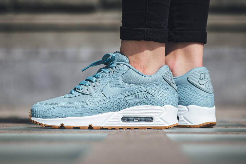 low priced df38d f1952 Nike Air Max 90 Premium Mica Blue