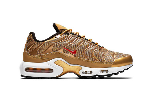 840ea3627ed The Nike Air Max Plus Appears in a Gleaming
