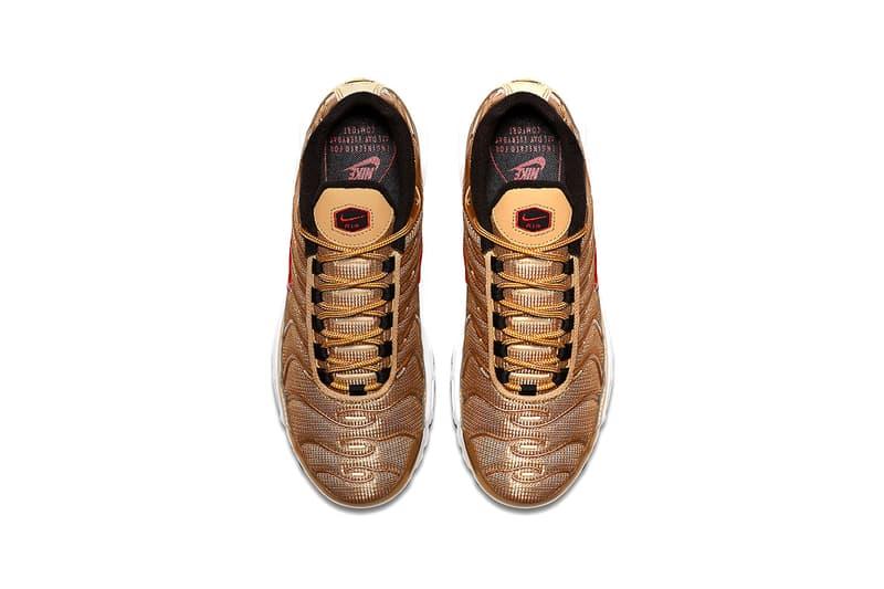 Nike Air Max Plus Metallic Gold