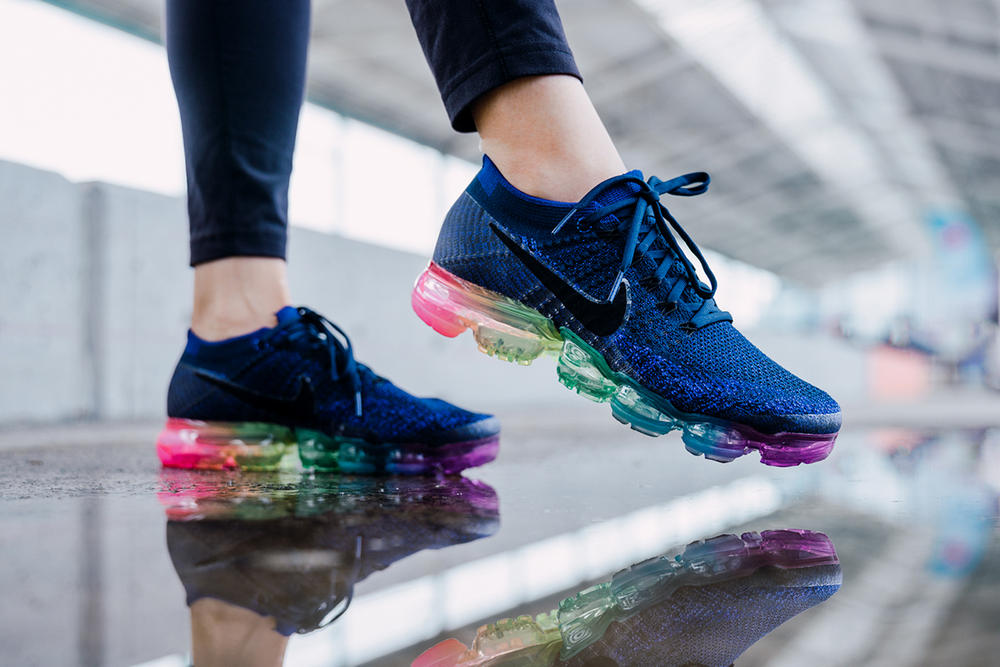 Nike VaporMax Be True Rainbow Sole LGBT LGBTQ