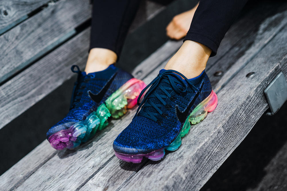 e1aa7423cddf Nike VaporMax Be True Rainbow Sole LGBT LGBTQ