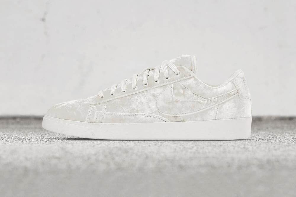 hot sale online 7c23a e09bb Nike Blazer Low LX Velvet Pack Is So Luxe | HYPEBAE