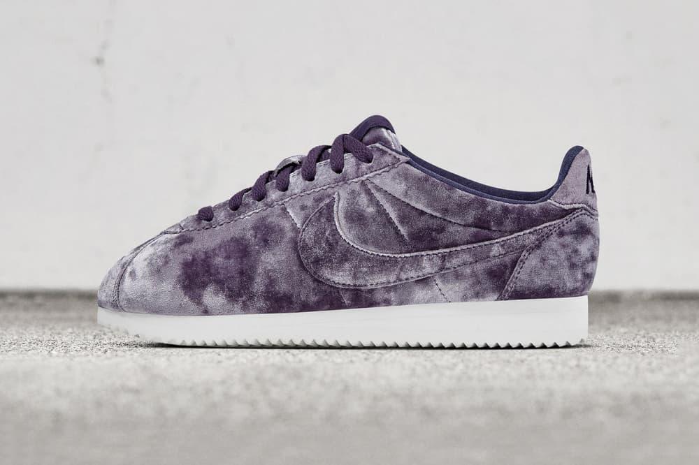 new styles c1588 10441 Nike Cortez Classic LX Velvet Purple Black