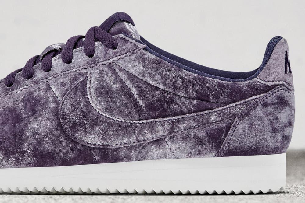 Nike Cortez Classic LX Velvet Purple Black
