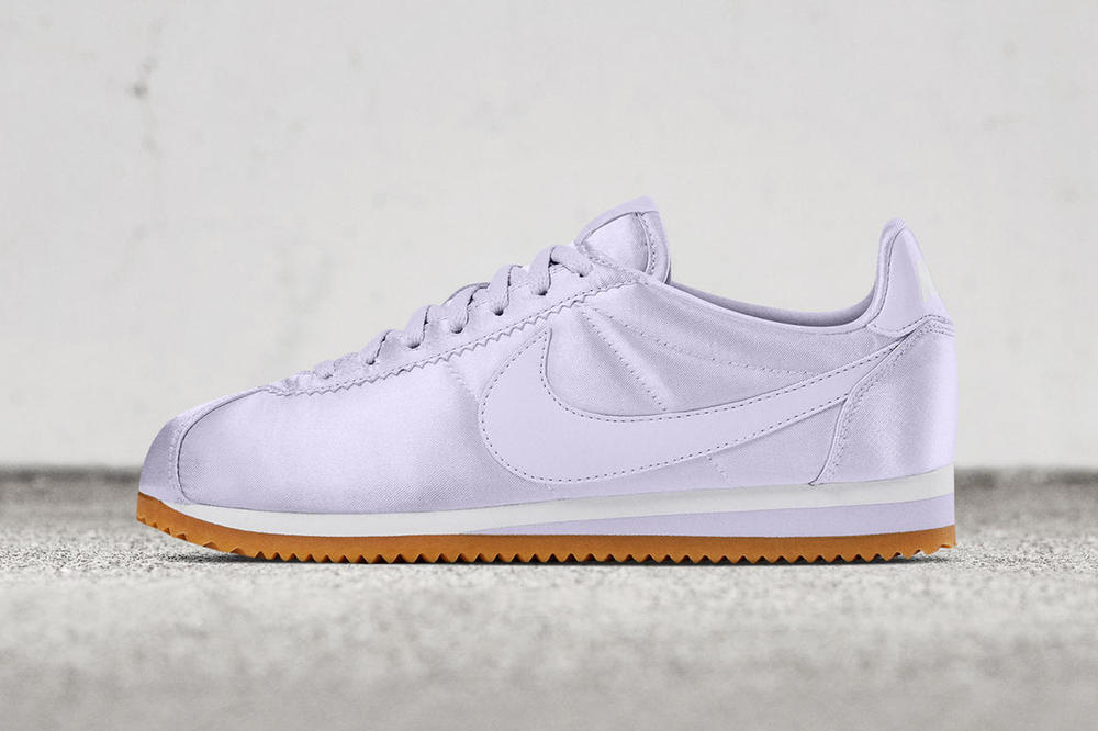 the latest c5394 5a8a1 Nike Classic Cortez Gets a Satin Makeover | HYPEBAE