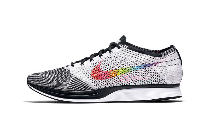 Nike cortez flyknit racer be true rainbow LGBTQ equality pride