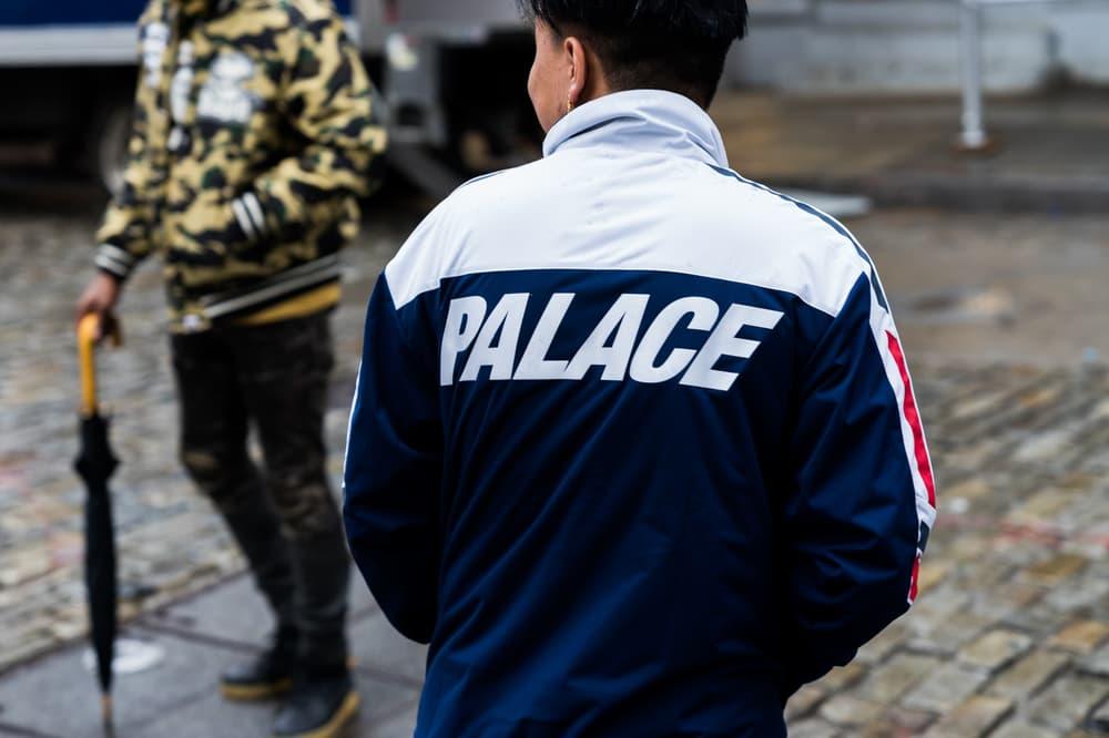 Palace NYC Store Streetsnaps