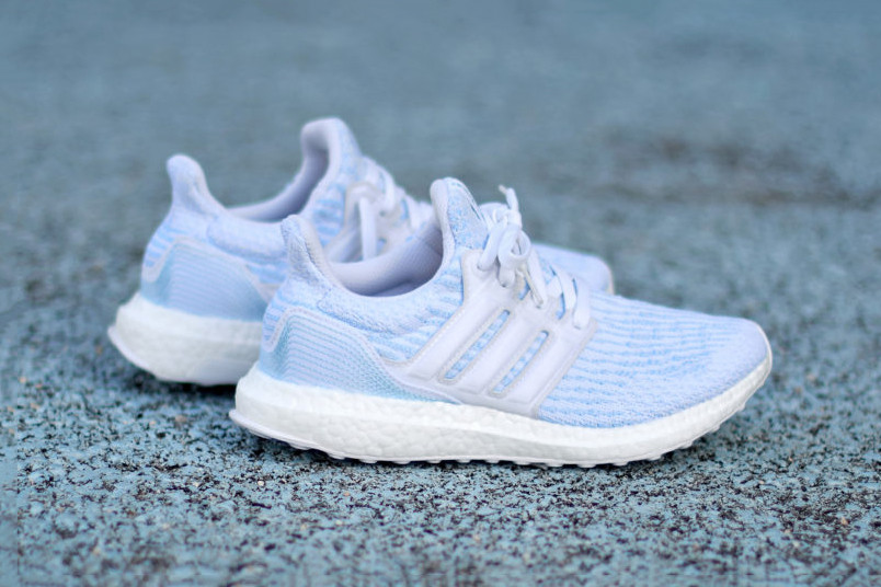 brand new 06690 d1787 Parley x adidas UltraBOOST 3.0 in Ice Blue   HYPEBAE