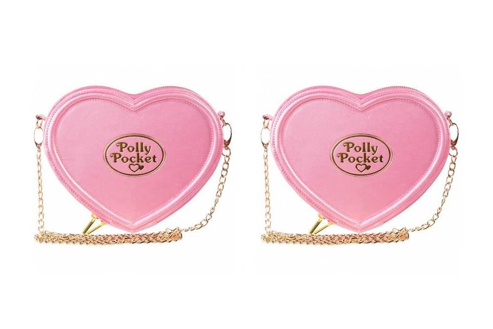 Polly Pocket Bag Pink Heart