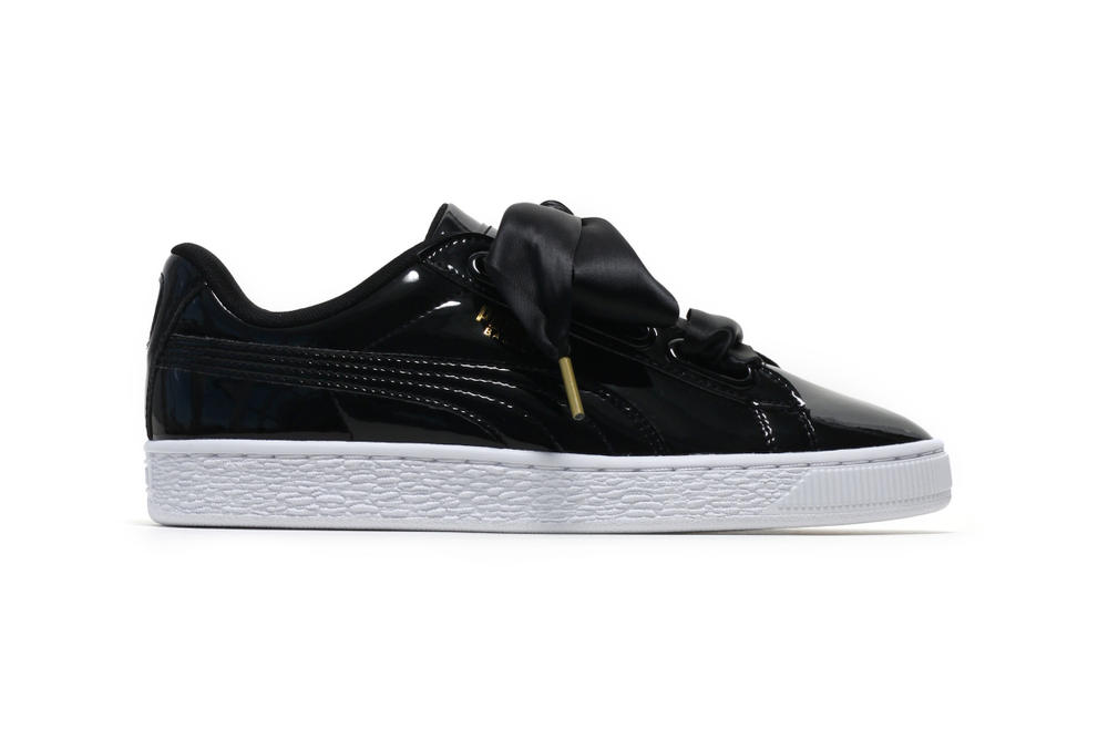 official photos abc23 e7d07 PUMA Basket Heart Patent Leather Is Restocked | HYPEBAE