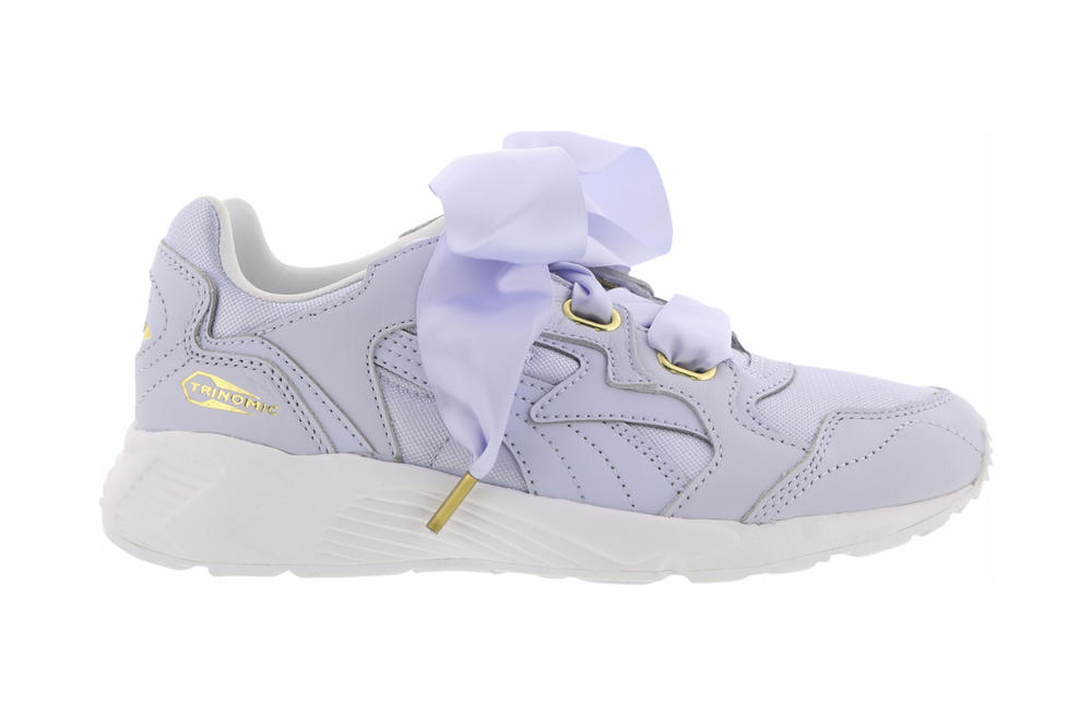 PUMA Prevail Heart Halogen Blue White Black Rihanna Fenty Bow Sneaker