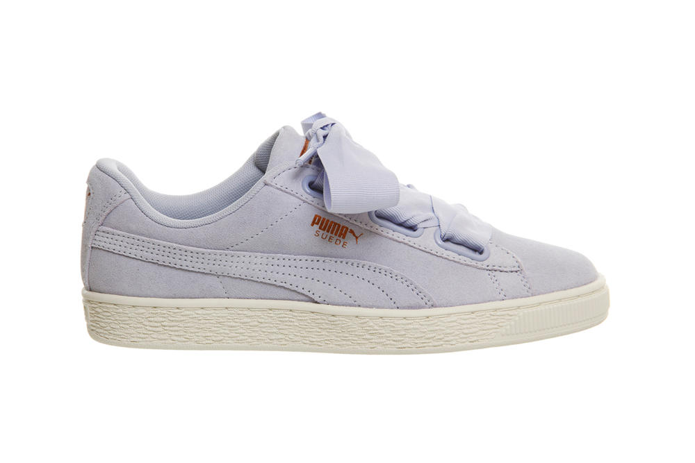 PUMA Suede Heart Coral Cloud Halogen Blue Pastel Pink Purple Lilac