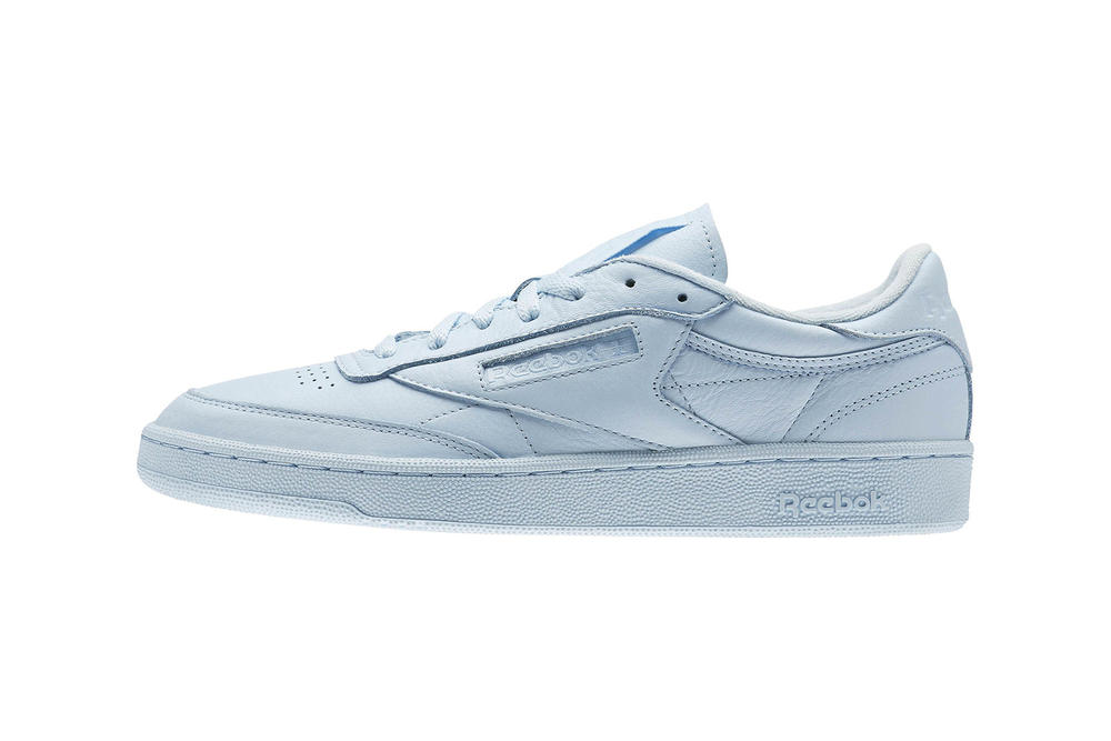 592a9ce78e9 Reebok Club C 85 Pastel Elm Pack Fresh Blue Porcelain Pink Seaside Grey