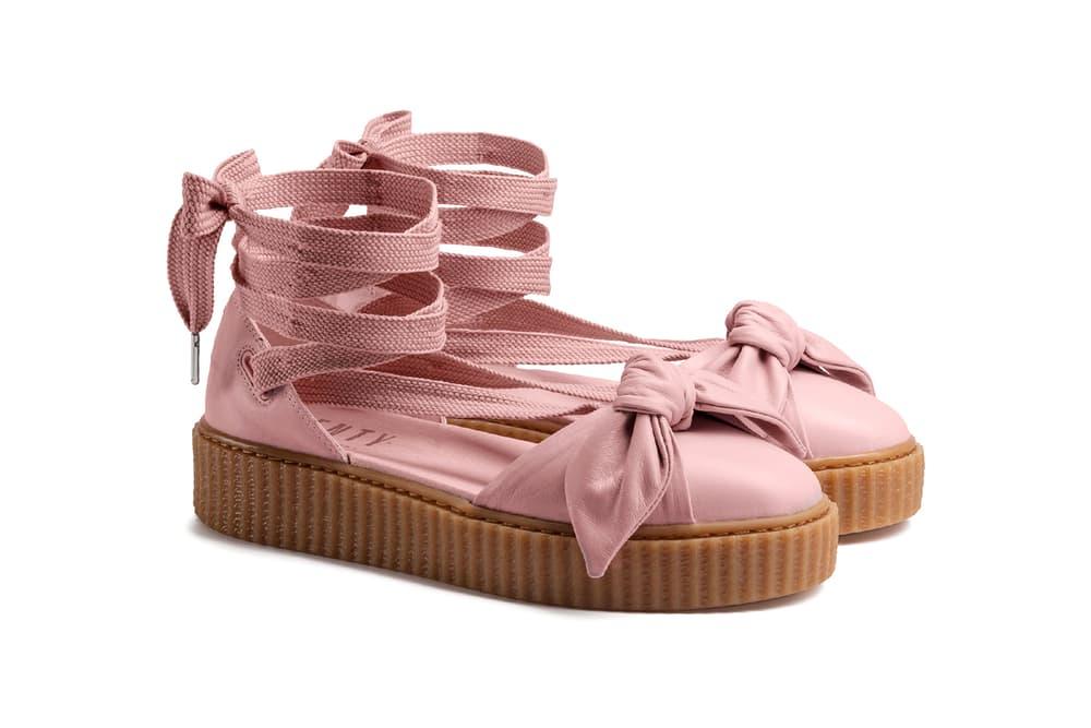new arrival 58690 6fc8d Rihanna Fenty PUMA Bow Creeper Sandal Drop Date | HYPEBAE