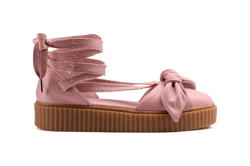 new arrival 8dbb2 9545a Rihanna Fenty PUMA Bow Creeper Sandal Drop Date | HYPEBAE