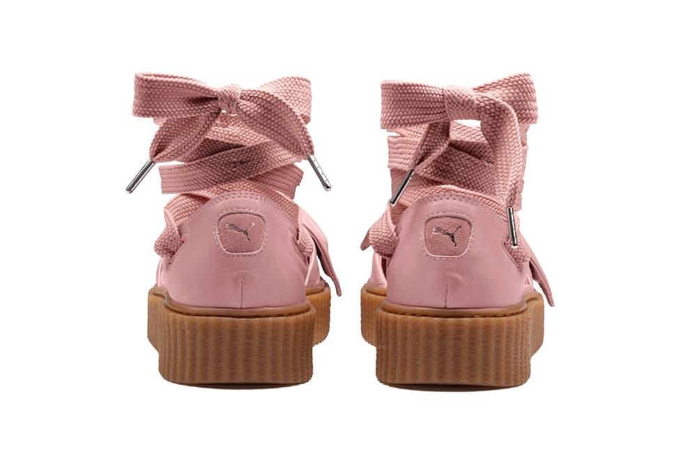 new arrival f2d30 776fd Rihanna Fenty PUMA Bow Creeper Sandal Drop Date | HYPEBAE