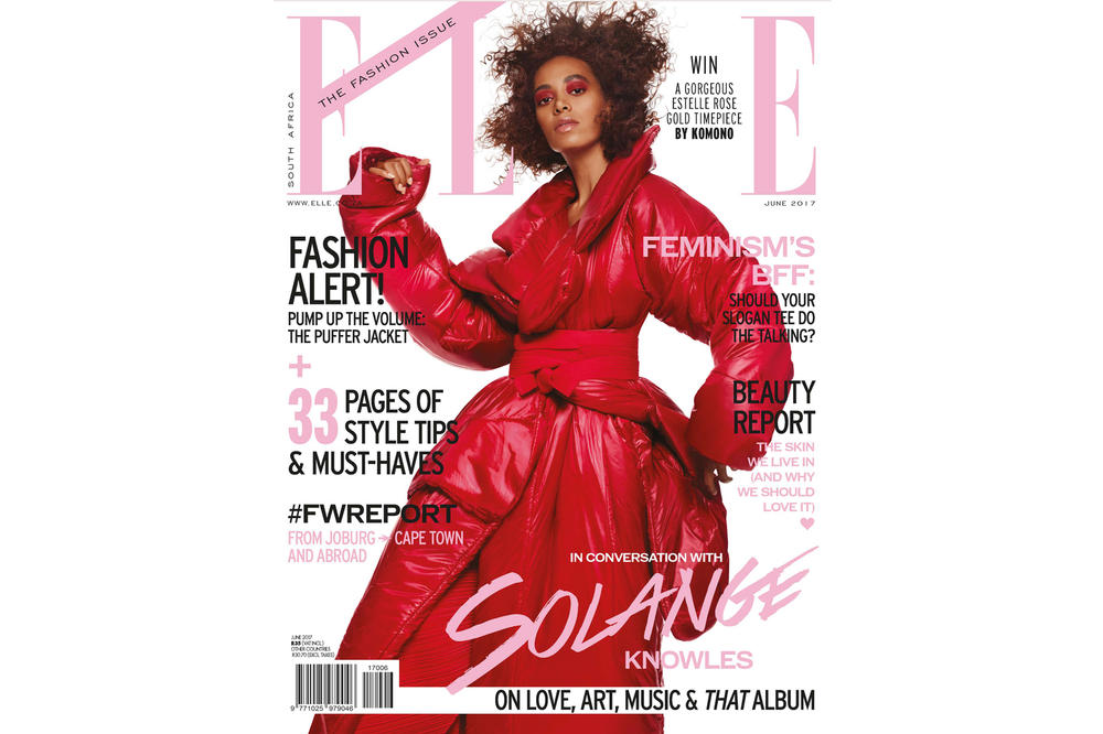 Solange ELLE South Africa 2017 June Fashion Issue