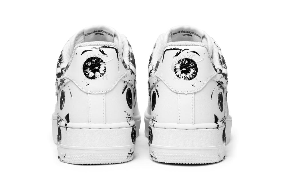 hot sale online 16d9a dac2a Supreme CDG Nike Air Force 1 Releases May 18 | HYPEBAE