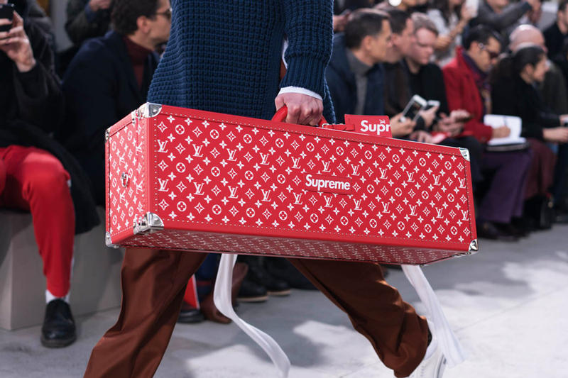 Supreme x Louis Vuitton 2017 Spring Summer Collection Runway