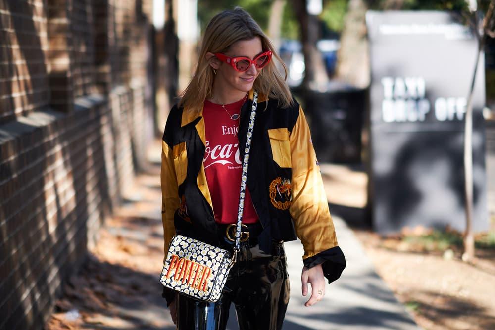 Streetsnaps 2017 Sydney Fashion Week balenciaga gucci vans supreme vetements