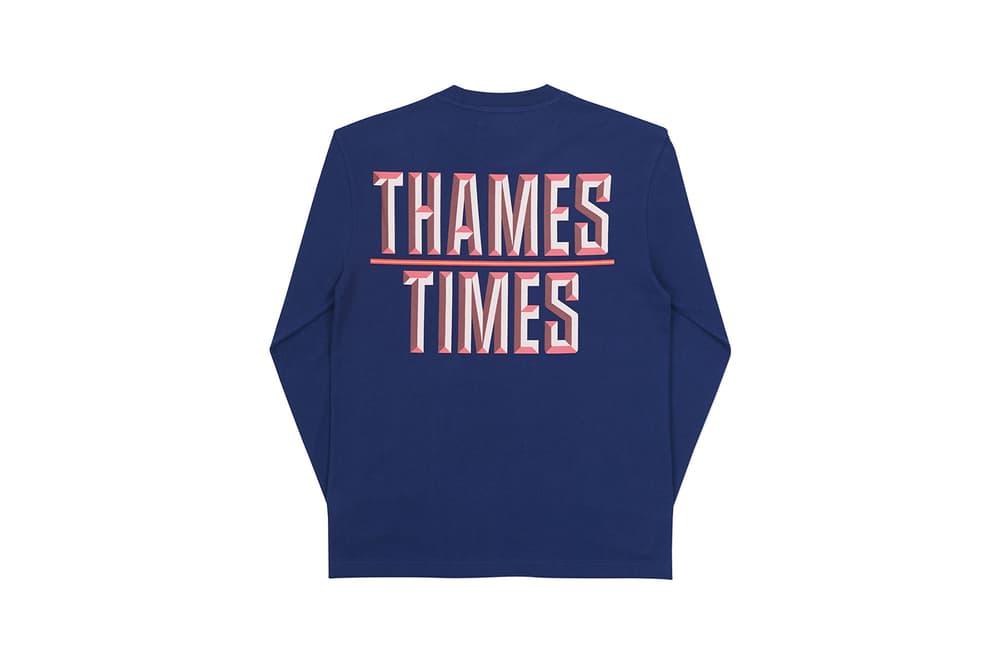 Thames London brand third drop palace Blondey McCoy
