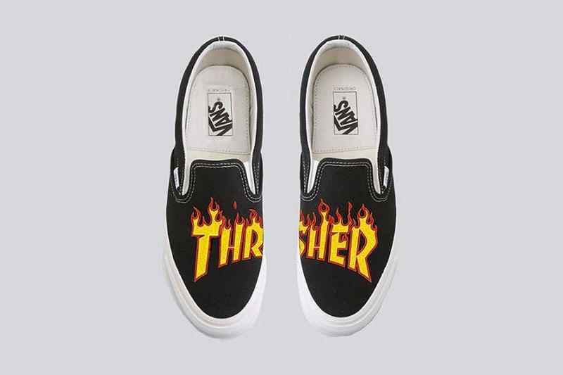 First Look at Rumored Thrasher x Vans Collab | HYPEBAE
