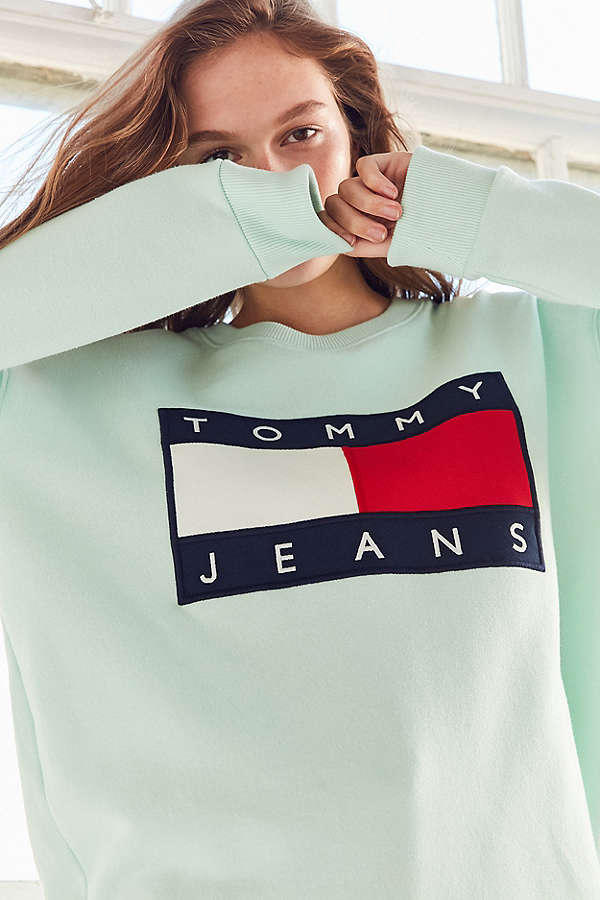 Tommy Jeans x Urban Outfitters Pastel Jacket Sweatshirt T-Shirt