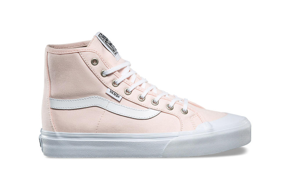 0a28662089 Vans  Black Ball Hi SF Is Not Your Average Pink