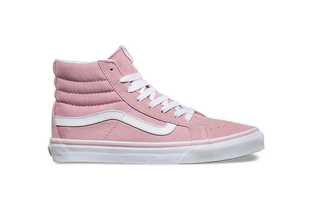 Vans Old Skool Sk8-Hi Slim Zephyr Pink Pastel Millennial