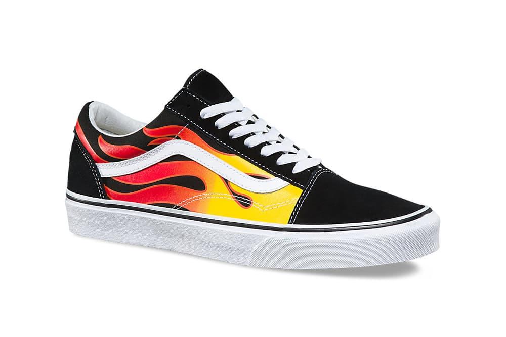 Vans Sk8-Hi Old Skool Flames