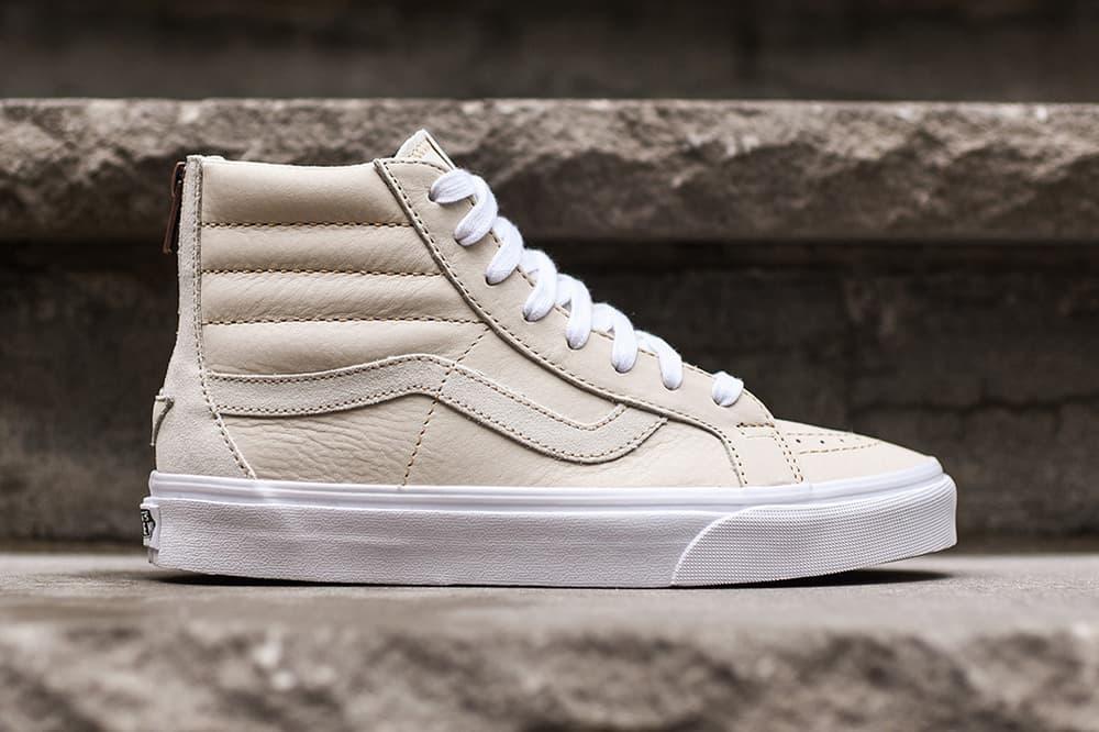 Vans Sk8-Hi Slim Zip DX White