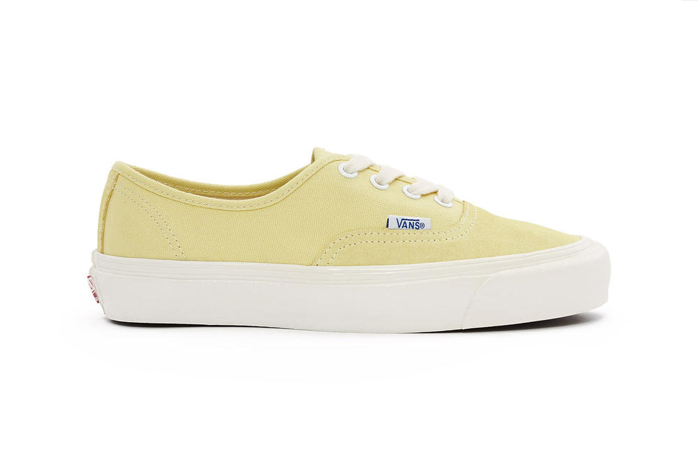 c6a83778a0 Vans Vault OG Authentic LX Chardonnay Sprout Green