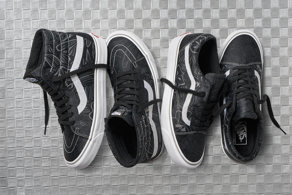 Jacquard Vault by Vans Collection sk8-hi old skool authentic