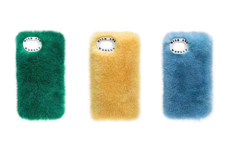 Wild and Woolly Furry Fur iphone cases