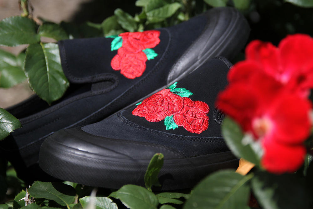 adidas Matchcourt Slip-On Roses