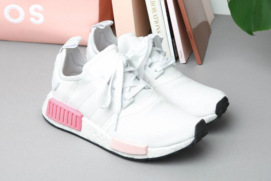 Adidas Nmd R1 White Rose Just Restocked Hypebae