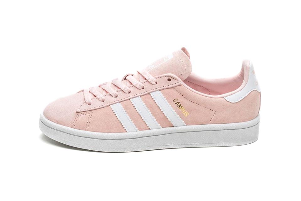 Recoger hojas Abundantemente También  Fall in Love With the adidas Campus in Ice Pink | HYPEBAE