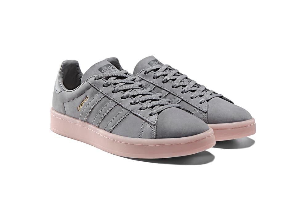 adidas Originals Campus Tonal Grey Icey Pink Pastel