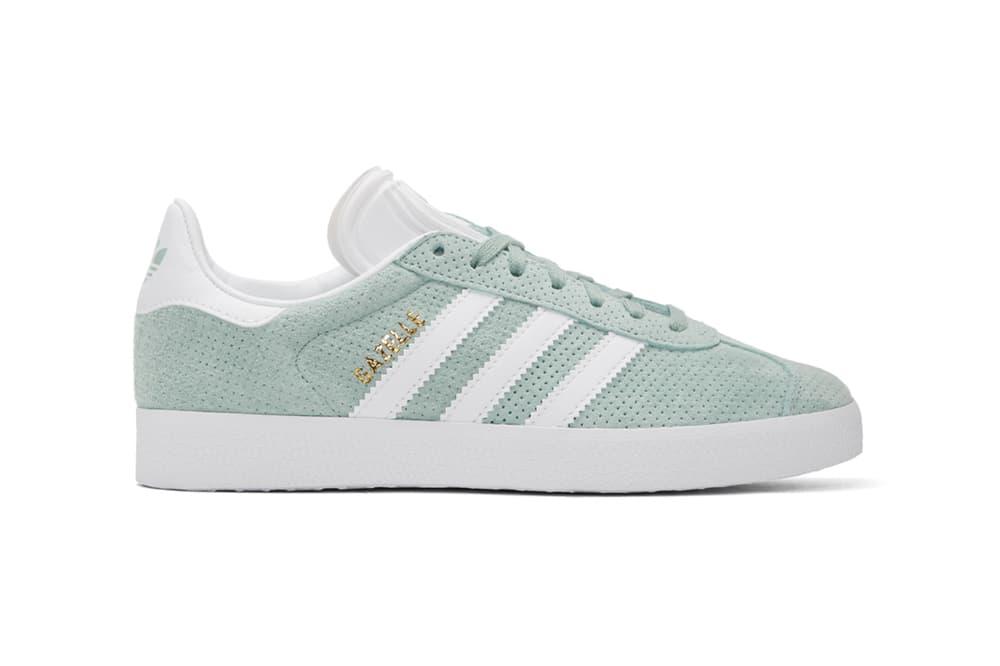 best website 2716f 01635 adidas Originals Gazelle Tactile Green Mint