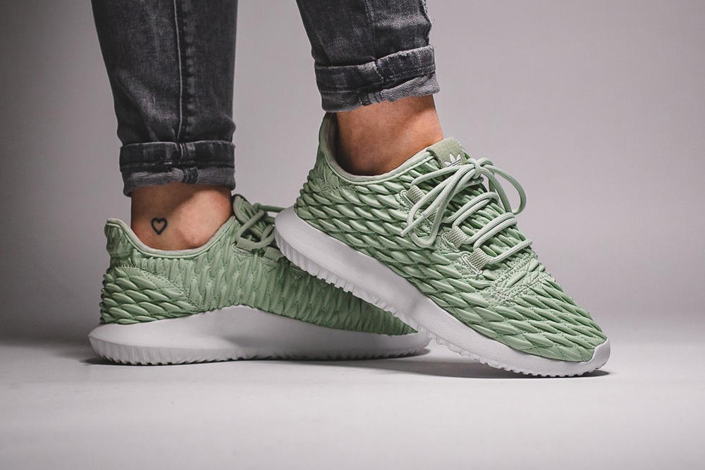 cheaper 8badf e3e63 adidas Tubular Shadow Gets a Linen Green Finish | HYPEBAE
