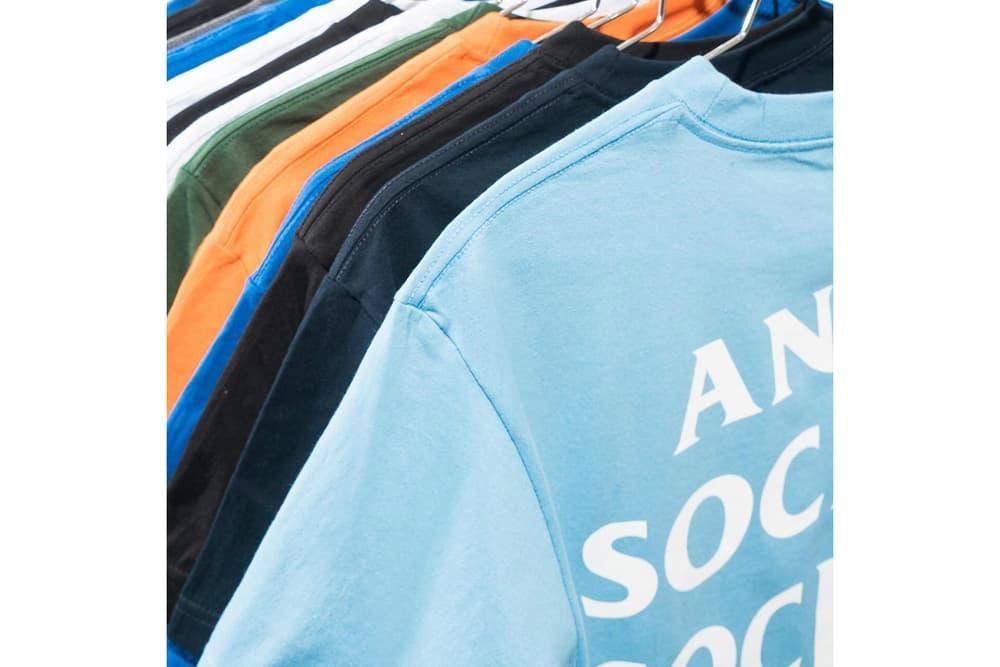 Anti Social Social Club T-Shirts 2017 Fall/Winter